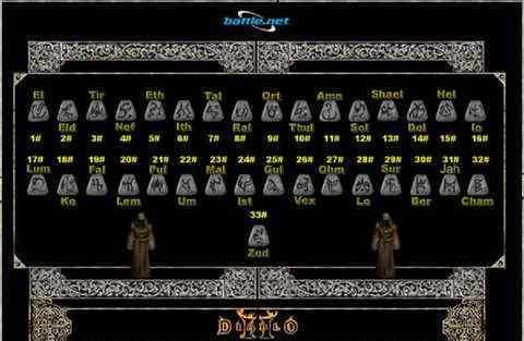 暗黑2打孔公式 《暗黑破坏神2》新人帮助及常用打孔公式