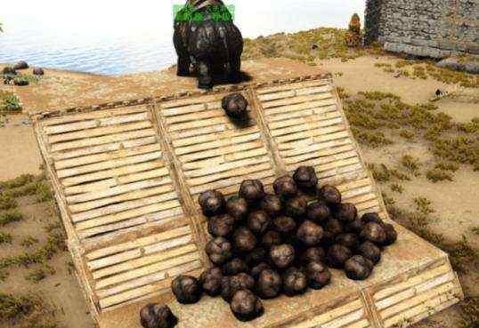 """渐新象 玩家为《方舟生存进化》农作物施肥给 """"渐新象""""吃白果子强制拉屎"""