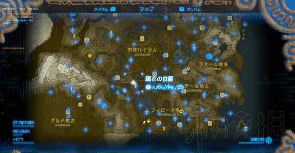 塞尔达120神庙地图高清 《塞尔达传说:荒野之息》全神庙中文攻略 120神庙位置+全神庙解法