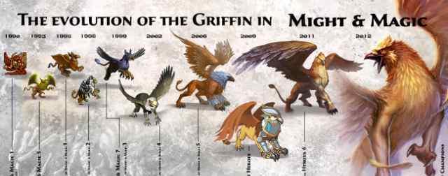 元老级生物 《英雄无敌6》魔法门系列之狮鹫演化史
